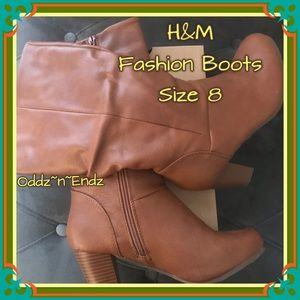 H&M Fashion Boots For Women/Size 8!